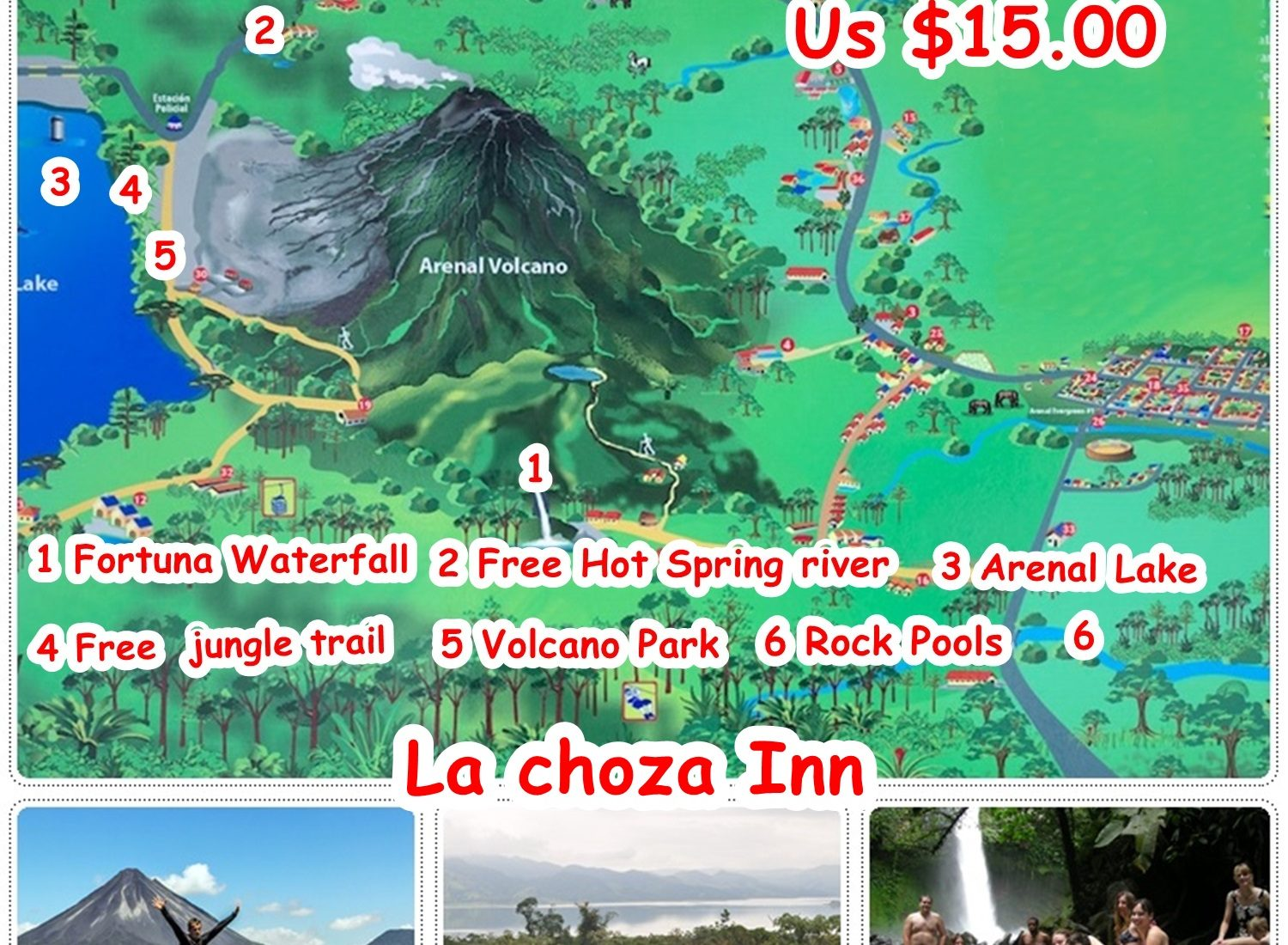 Arenal Shuttle Pass