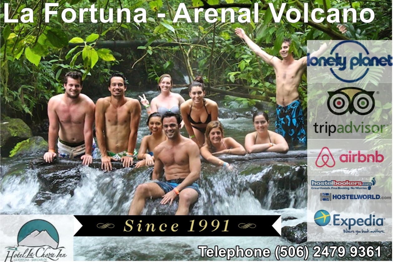Hostel Backpackers  in Arenal Volcano –  La Fortuna -Costa Rica