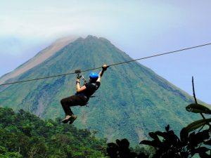 zip line canopy costa rica arenal volcano