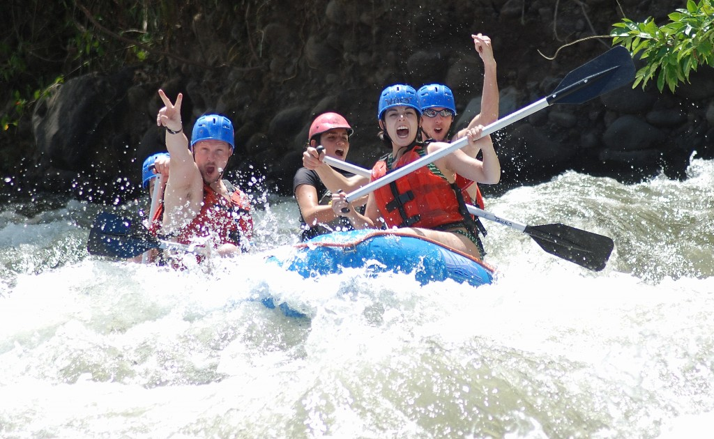 River rafting la fortuna, costa rica