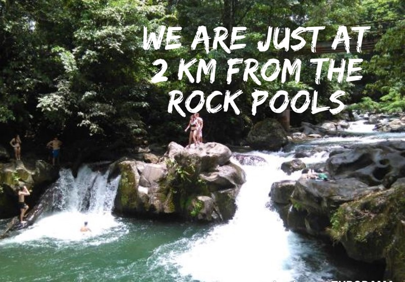 rock pools arenal la fortuna