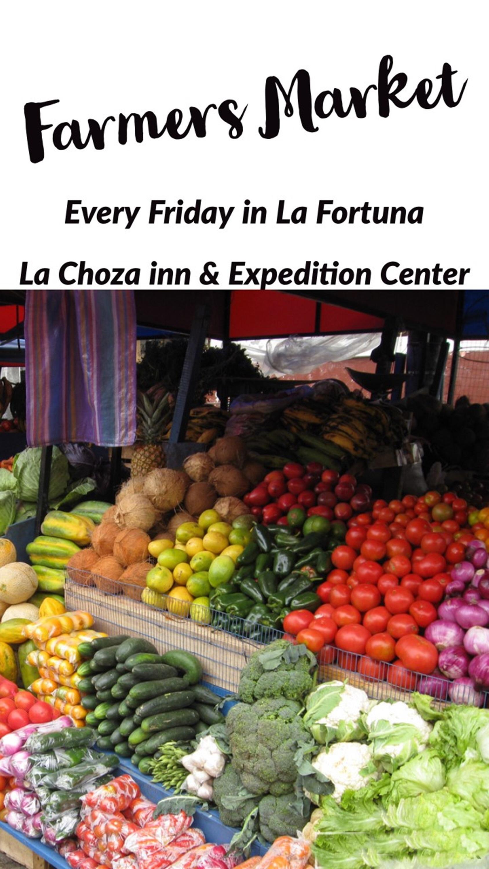 Farmers Market La Fortuna Arenal Volcano