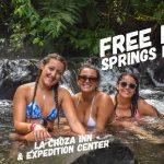 free arenal hot springs