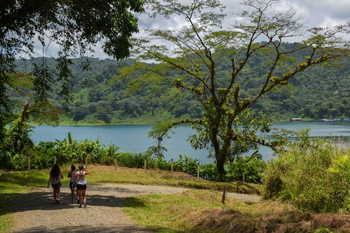 Free Jungle Trail By the Arenal Lake